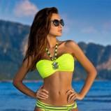strój kąpielowy Gabbiano - w kolorze limonkowym