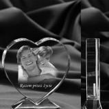 STUDIO 3D Zdjęcia w krysztale, prezenty ślubne