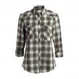 stylowa koszula Lindex w kratkę w kolorze khaki