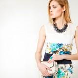 sukienka Anataka w kwiaty - wiosna/lato 2013