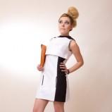 sukienka Anna Popławska - z kolekcji wiosna-lato 2012