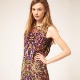 sukienka Asos w etniczne wzory - wiosna/lato 2012
