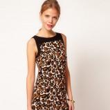 sukienka Asos w panterkę - trendy na wiosnę