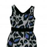 sukienka Bialcon we wzory - kolekcja wiosenno/letnia
