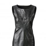 sukienka C&A skórzana - trendy na jesień 2013