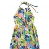 sukienka C&A w kwiaty długa - wiosna/lato 2011