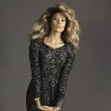 sukienka Caterina we wzory - kolekcja jesienno-zimowa