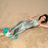 sukienka długa - wiosna 2012