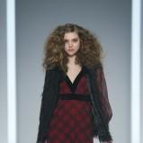 sukienka F&F w kratę maxi - jesień/zima 2013