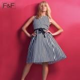 sukienka F&F w paski  - trendy na lato