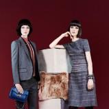 sukienka Fendi w kolorze szarym - moda 2013/14