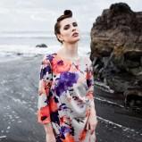sukienka Grey Wolf w kwiaty - wiosna/lato 2012