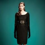sukienka Gucci w kolorze czarnym - jesienne trendy 2013