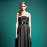 sukienka Gucci w kolorze popielatym - zimowe trendy 2013/14