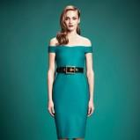 sukienka Gucci w kolorze zielonym - trendy 2013/14