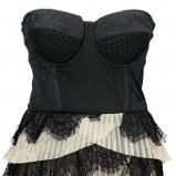 sukienka H&M odkryte ramiona - z kolekcji jesień-zima