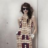sukienka H&M w grochy - wiosna-lato 2012