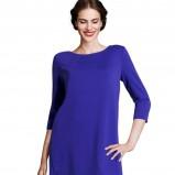 sukienka H&M w kolorze  kobaltowym - kreacja na studniówkę