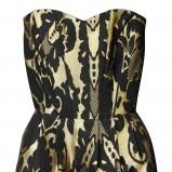 sukienka H&M w kwiaty ołówkowa - trendy na jesień-zimę