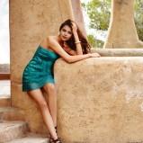 sukienka Intimissimi w kolorze ciemnozielonym - lato 2013