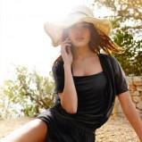 sukienka Intimissimi w kolorze czarnym - lato 2013