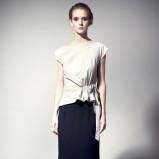 sukienka Langner długa - jesień 2011