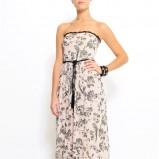 sukienka Mango w kwiaty długa - trendy wiosna-lato