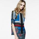 sukienka Mango we wzory - kolekcja damska