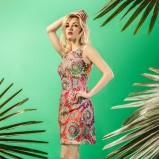 sukienka Midori we wzorki  - lato 2013