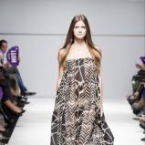 sukienka Natalia Jaroszewska we wzory - wiosenna kolekcja