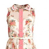 sukienka New Look z kołnierzem - wiosna/lato 2012