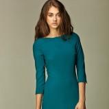 sukienka Nife w kolorze morskim  - kolekcja jesienno - zimowa 2012/13