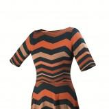 sukienka Orsay w paski - jesień/zima 2012/2013