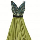 sukienka Orsay we wzorki długa - wiosna/lato 2011