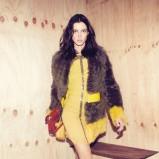 sukienka Patrizia Pepe w kolorze żółtym - moda na jesień 2013