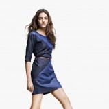 sukienka Reserved jeansowa - modny denim