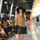 sukienka Simple ze skóry - jesień/zima 2011/2012