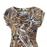sukienka Solar w kolorze brązowym - kolekcja damska 2013
