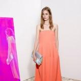 sukienka Stella McCartney w kolorze łososiowym - wiosna i lato 2013