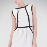 sukienka Stradivarius w kolorze białym - trendy na wiosnę i lato 2013