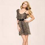 sukienka Tally Weijl w panterkę - wiosenna kolekcja