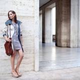 sukienka Tatuum we wzorki - trendy wiosna-lato