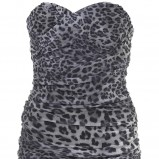 sukienka Topshop w panterkę - trendy na jesień-zimę