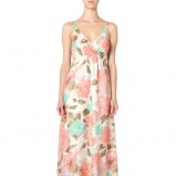 sukienka Vero Moda w kwiaty maxi - trendy na lato 2013
