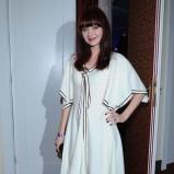 sukienka w kolorze ecru - Anna Rusowicz