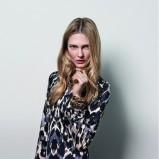sukienka Wallis we wzorki - kolekcja jesienna 2013
