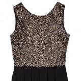 sukienka wieczorowa Reserved z cekinami - zima 2012/13