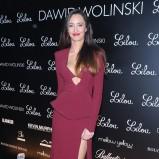 sukienka wieczorowa w kolorze bordowym Agata Nizińska