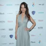 sukienka wieczorowa w kolorze szarym - Paulina Sykut - Jeżyna