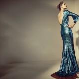 suknia Plich z cekinami  - kolekcja wiosenno-letnia